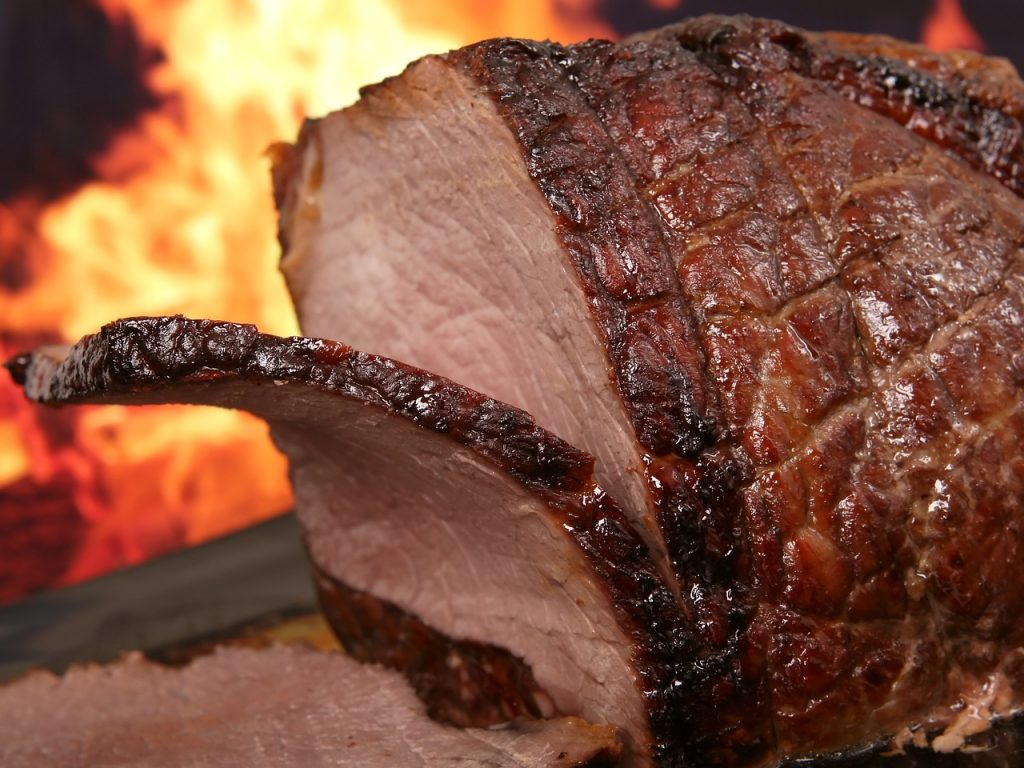 cortes de carne de res para asar