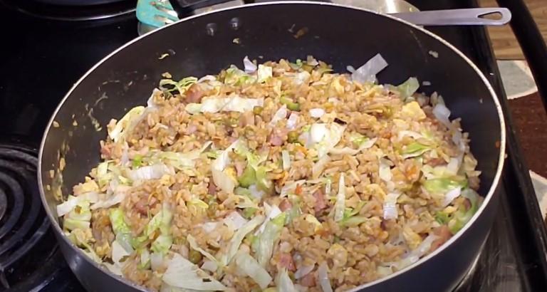 arroz chino receta