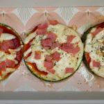 como hacer pizza de zucchini
