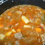 receta de carne guisada puertoriqueña