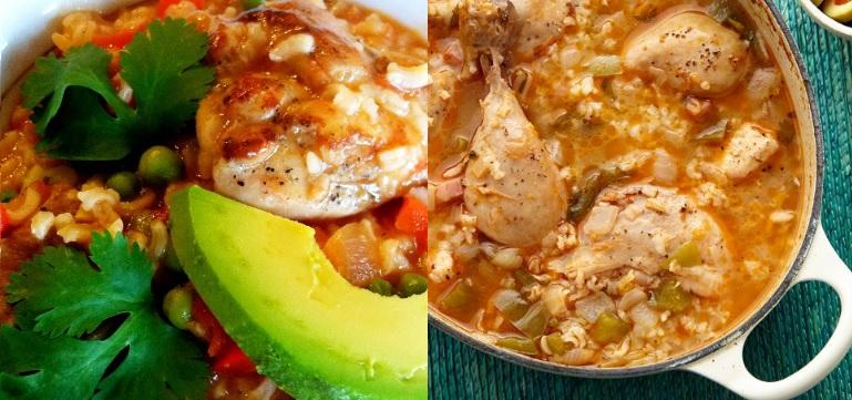 asopado de pollo puertorriqueño
