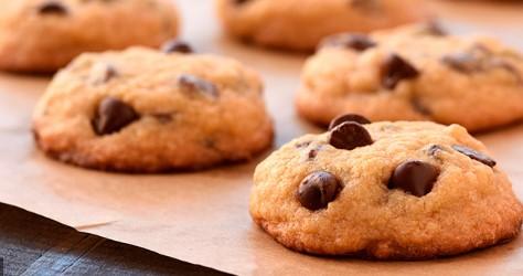 receta de galletas con chispas de chocolate sin mantequilla