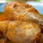 pollo guisado con papas y zanahorias receta