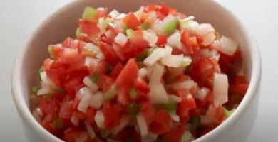salsa criolla para choripán