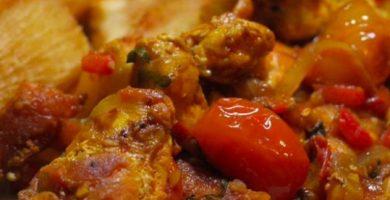 receta de pollo achiotado