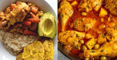 pollo guisado puertorriqueño receta