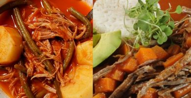 receta de hilachas guatemaltecas